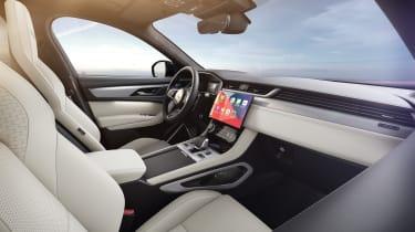 Jaguar F-Pace R-Dynamic Black - Light Oyster interior infotainment