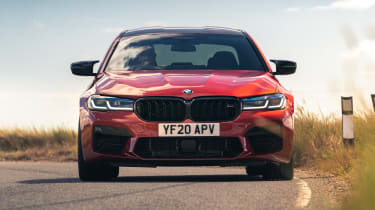 2021 BMW M5 Competition saloon - front on dynamic