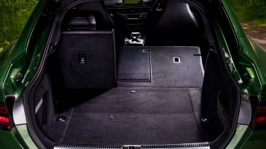 Audi RS5 Sportback boot seats folded