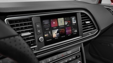 SEAT Leon infotainment system