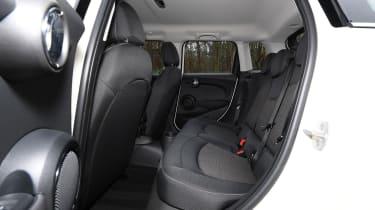 MINI 5-door hatchback rear seats