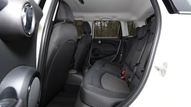 MINI 5-door hatchback rear seats