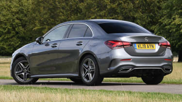 Mercedes A-Class saloon rear 3/4 static