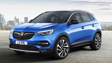 The Grandland X is Vauxhall's answer to cars like the Nissan Qashqai and SEAT Ateca