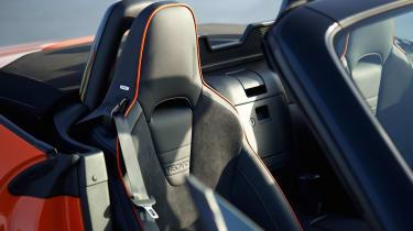 Mazda MX-5 30th Anniversary Edition Recaro seats
