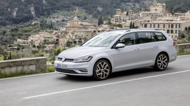 As with the hatchback, Golf Estate buyers can choose from a wide range of petrol and diesel engines