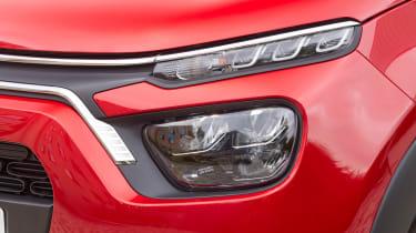 Citroen C3 hatchback headlights
