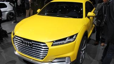 Audi TT offroad concept front quarter static