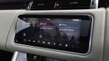 Range Rover Sport SUV touchscreen