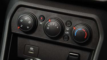2021 Dacia Sandero hatchback - ventilation controls