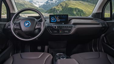 A recent update boosted the i3's potential electric range