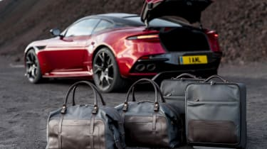 Aston Martin DBS Superleggera luggage