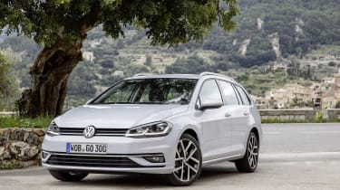 While not the most stylish car on the market, the Golf Estate does still exude a certain class