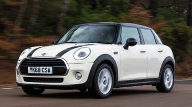 MINI 5-door hatchback front tracking
