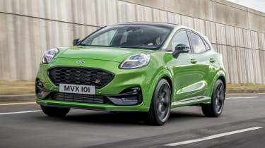 2020 Ford Puma ST - front 3/4 dynamic view