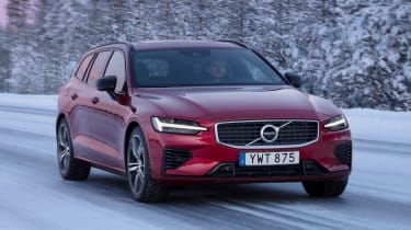 Volvo V60 T8 Twin Engine hybrid front tracking