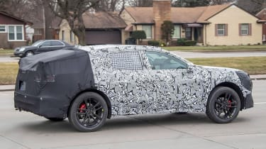 Ford Mondeo SUV spy shot - side view