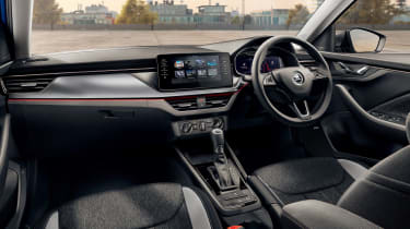 Skoda Scala hatchback interior