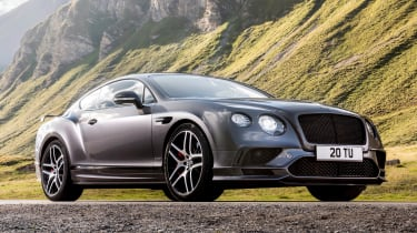 The Continental GT Supersports takes just 3.4 seconds to go from 0-60mph, and the convertible is just 0.3 seconds slower