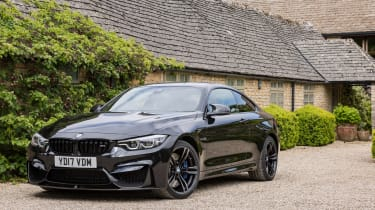 BMW M4 Coupe front 3/4 static
