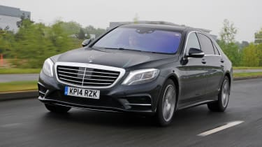 The Mercedes S300h is the entry-level S-Class