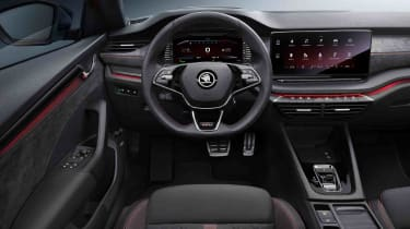 2020 Skoda Octavia vRS iV Estate interior