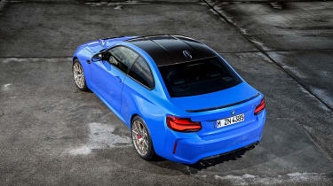 BMW M2 CS - rear top view