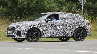 Audi RS Q3 Sportback side view prototype