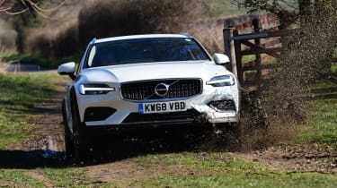 Volvo V60 Cross Country - off-road