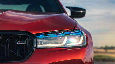 2021 BMW M5 Competition saloon - front headlight
