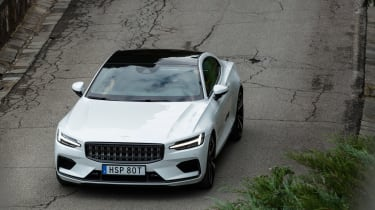Polestar 1 coupe roof