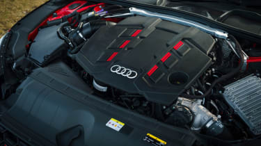 Audi S5 Coupe engine bay