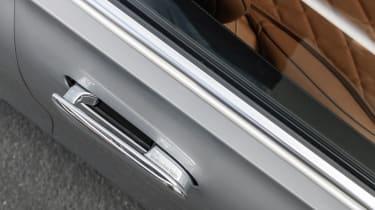 2020 Mercedes S-Class - flush fitting door handles