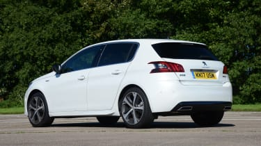 Although not the last word in handling prowess, the 308 is very smooth and comfortable