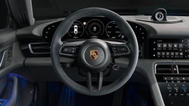 2020 Porsche Taycan 4S - Interior dashboard