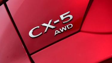 Mazda CX-5 SUV badge