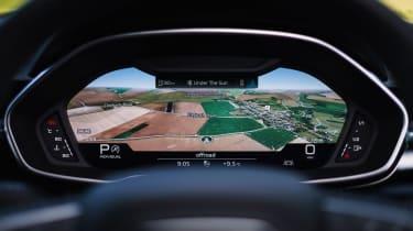 Audi Q3 Sportback SUV - digital dials