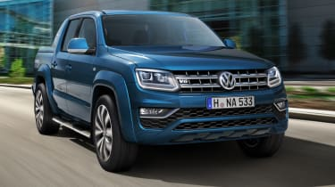 The new 221bhp V6 diesel engine enables the Amarok to go from 0-62mph in eight seconds