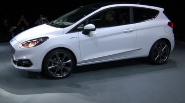 The 2017 Fiesta Vignale will also include exclusive alloy wheels