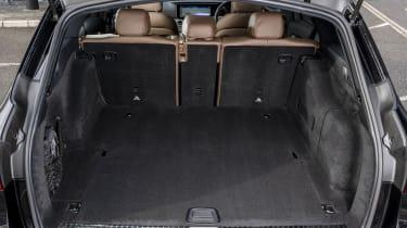 Facelifted Mercedes E-Class estate boot