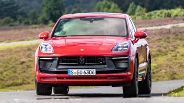 Porsche Macan SUV front dynamic
