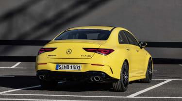 Mercedes-AMG CLA 35 - rear static