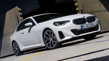 2021 BMW 2 Series Coupe M Sport - front 3/4 static