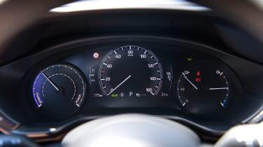 Mazda MX-30 SUV instruments