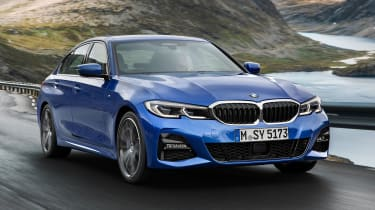 BMW 3 Series 2019 front tracking