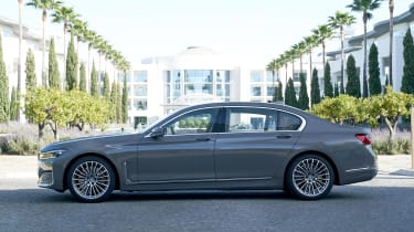 BMW 7 Series saloon side static