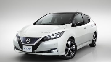 The all-electric Nissan Leaf will aim to improve on its predecessor's success