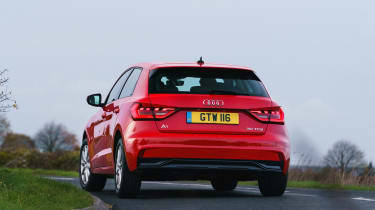 Audi A1 2019 rear tracking 3