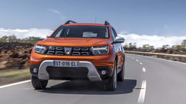 2021 Dacia Duster SUV - front dynamic