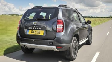 Entry-level Access trim is resolutely basic, but a recent facelift has kept the Duster looking sharp